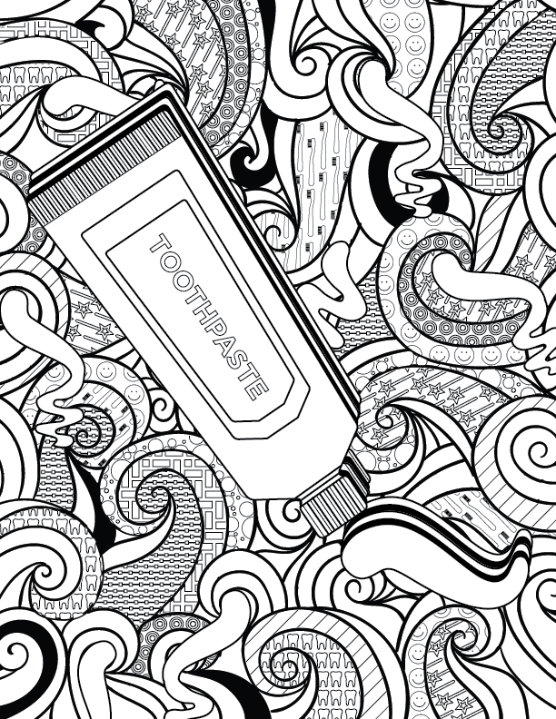 Adult Dental Coloring Pages-01