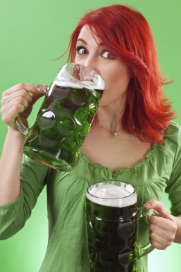 Green Beer Can Mean Tooth Troubles