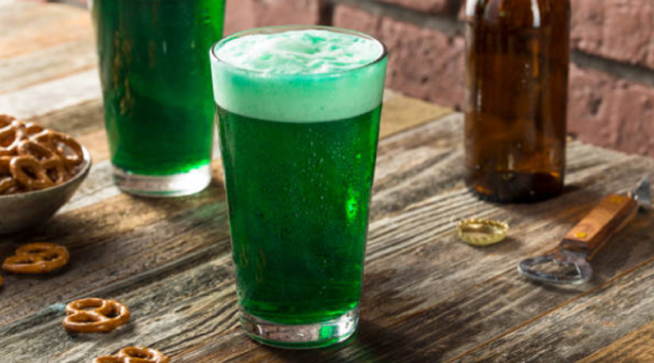 There's a connection between green beer and tooth decay.