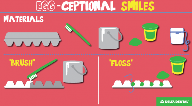 Eggceptional Smiles Craft - Delta Dental of Colorado