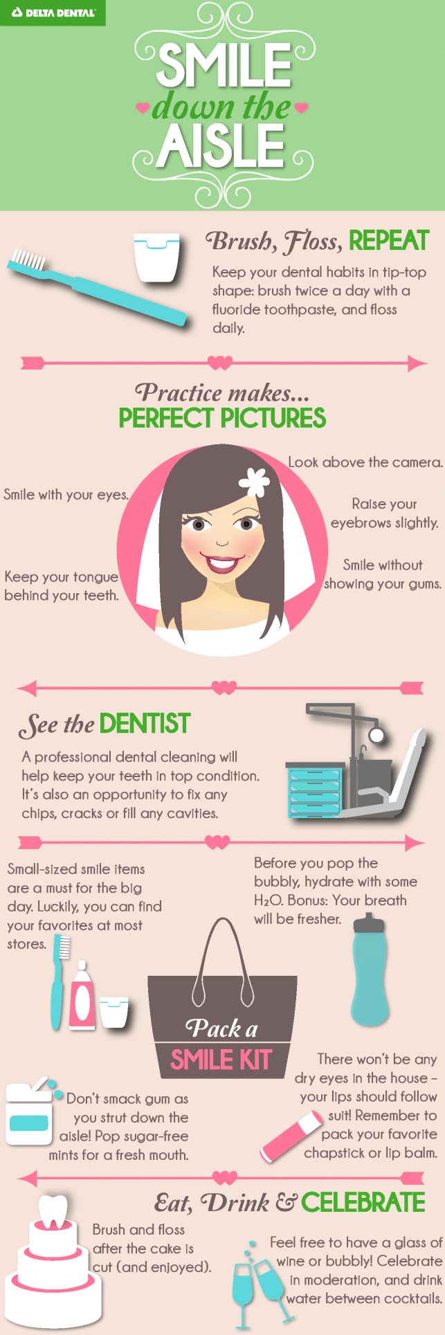 Wedding Season Infographic Delta Dental of Colorado