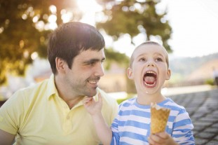 Ice cream is America's favorite dessert! Your teeth might not be fond of all the sugar, but you don't have to skip this summer treat: