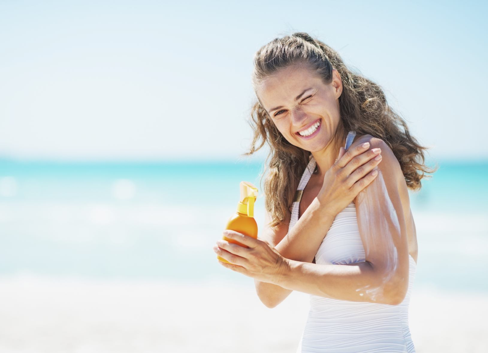 Protect that pout! Learn how you can defend your kisser from sun damage and skin cancer: