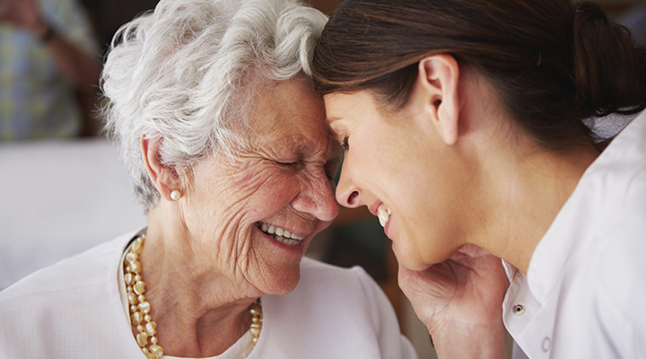 You love to see them smile. Tips for dementia caregivers: