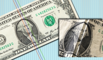 Grab a dollar bill and turn Washington's frown upside down with this quick and easy dental-themed craft.
