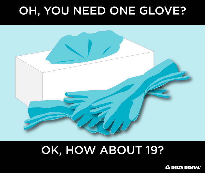 Oh, you just need one glove? Ok, how about 19?