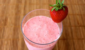 RECIPE: Protein-Packed Strawberry Smoothie