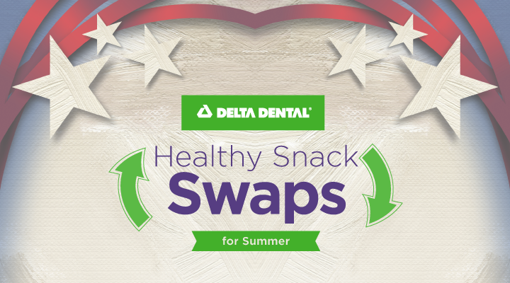 Healthy Food Swaps for All Summer Long [INFOGRAPHIC]