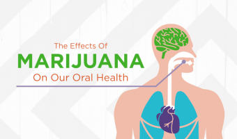 The impact that cannabis, more commonly known as marijuana or weed, has on our behavior is well-documented. But the side effects associated with oral health aren't discussed nearly as often.