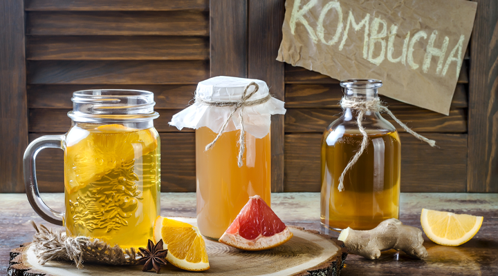 Learn what's in kombucha that can harm your teeth and how to prevent the kombucha health drink from causing enamel erosion