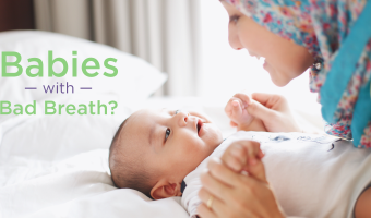 Bad breath in babies can be more worrisome than it is for adults. See how their diet and oral care have an effect and how it can be alleviated.