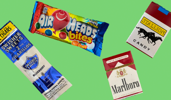 See how big tobacco and other industries are targeting kids through their packaging.