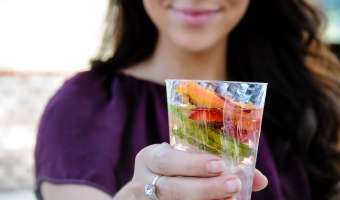 Summertime means we're reaching for something cold and refreshing more often to keep us hydrated. Sometimes, that means grabbing a sports drink, soda, or juice loaded with sugar—but it doesn't have to.
