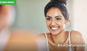 Having concerns about how white your pearly whites are? Get details on how to brighten your smile, directly from a dentist, by clicking the blog! #AskDeltaDental