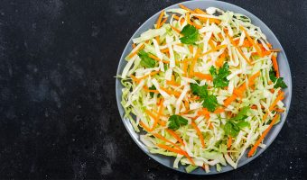Looking for a low-fat, vinegar-based slaw that's perfect for anything from a side dish for barbecue to a topping on your tacos? This coleslaw recipe without mayo will be your new summer staple: